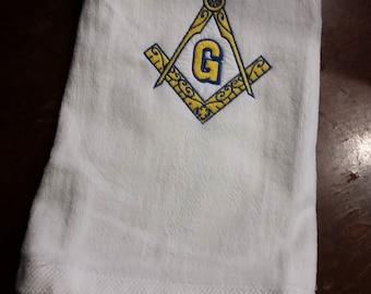 Masonic Golf Towel