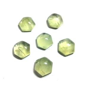 Prehnite cabochons gemstone 13x15mm