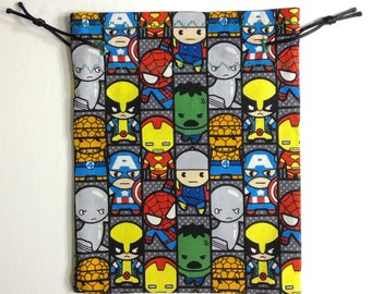 Marvel Kawaii Strip Dice Bag