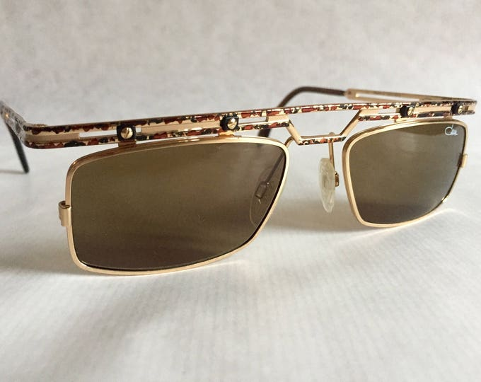 Cazal 975 Col 498 Vintage Sunglasses Made in Germany New Old Stock