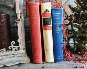 Old Books - Mid-Century Presidents, Napoleon & Moss Hart