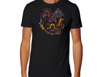 Battle of the masters T-shirt - He-Man T-shirt - Masters of the Universe T-shirt -Thundera T-shirt - Greyskull T-shirt - Skeletor T-shirt