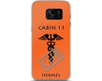 Camp Half-Blood Inspired Percy Jackson Cabin 11 Hermes Samsung Case