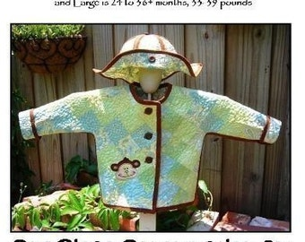 Quilted Toddler Jacket Pattern