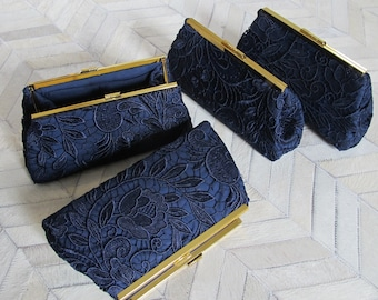 custom Bridesmaid Clutch set