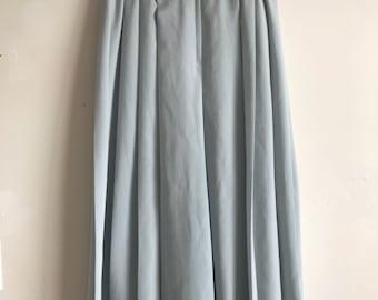 Parisian Skirt Pants Light-Blue Gauchos