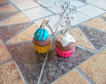 Various necklaces inspired by the desserts and biscuits