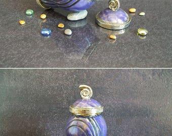 raku pottery Urn, purple urn, cremation urn, ceramic urn for ashes, keepsake urn, personalized urn, pet urn, memorial urn, cat urn, dog urn