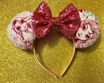 Disney Princess Inspired Ears/Ready To Ship!