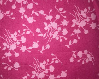 Heating Pad: Pink Floral CLOSEOUT-DISCOUNT