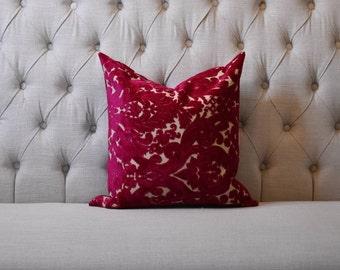 Fuchsia Flower   Pillow