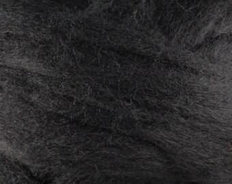 Wool Roving - 1oz - Black