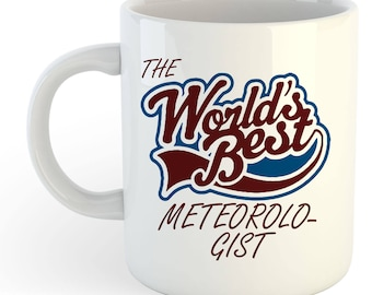 The Worlds Best Meteorologist Mug