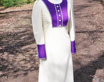 Vintage wedding dress, 1970s wedding dress, wedding dress, vintage gown, vintage bride, small dress, wedding dresses,