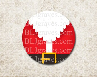 Christmas Santa Stickers Holiday Envelope Seals Party Favor Treat Bag Stickers CS020