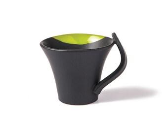 Handmade Ceramic coffee mug, Handmade mug, Coffee cup, Tea cup, Stoneware Cup, Pottery Cup, Mug, Drinkware, vivid colors, gift