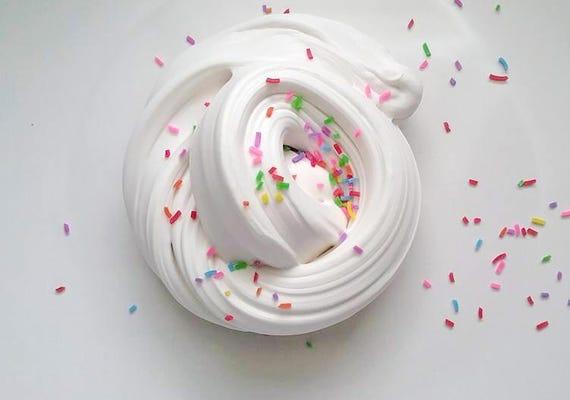 Birthday Cake Butter Slime