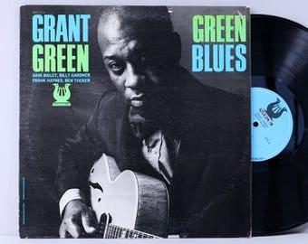 Grant Green - Green Blues - Vintage Vinyl Record Album 1973 Muse Records Jazz Guitar