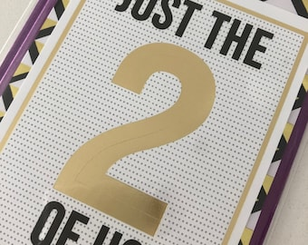 Just The Two of US Card