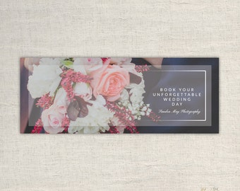 Facebook Timeline Cover - Timeline Cover Template - Facebook Wedding Photography Timeline Cover  - Timeline Template - INSTANT DOWNLOAD