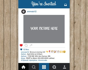 Instagram invite Etsy