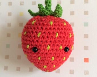 Strawberry crochet