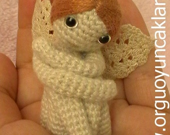 Amigurumi 2.3 inc Miniature Angel Pattern