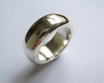 Big Bold Sterling Silver Ring