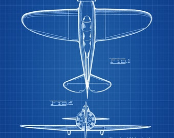 Boeing P-29 Patent - Vintage Aviation Art, Airplane Blueprint, Pilot Gift, Airplane Poster, Airplane Art, Boeing Patent