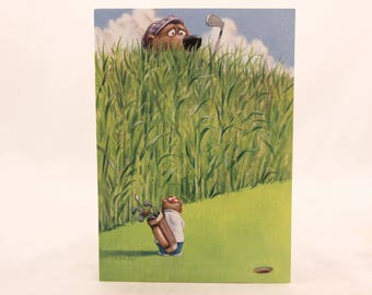 New! Vintage Get Well Soon Greeting Card by Sunrise. One Card & Envelope