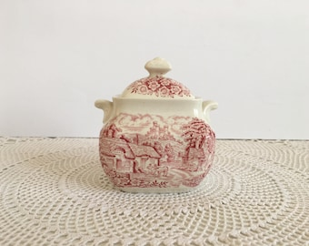 English ironstone - English ironstone sugar bowl - enoch wedgwood tunstall ltd - enoch wedgwood tunstall ltd  sugar bowl - enoch wedgwood
