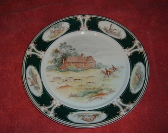 "Noritake Keltcraft Pursuit Round 11 7/8"" Platter"