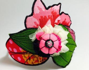 This beautiful headband garden Girly - trunk by Adele
