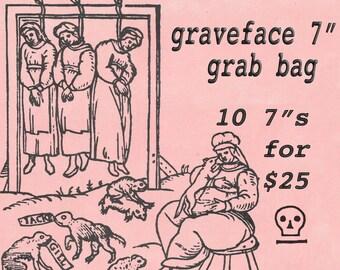 "Graveface 7"" grab bag"