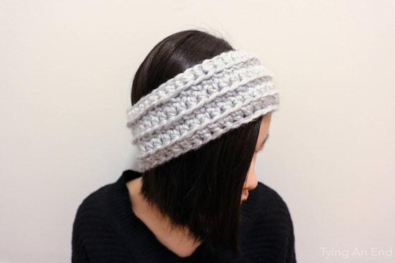 Eve Crochet Headband Crochet Pattern Pdf Pattern Chunky