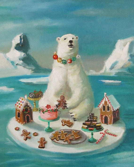 Goodie Bear. Art Print