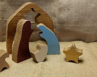 Nativity Set Puzzle Small