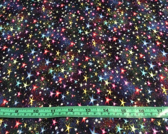 Timeless Treasure Space stars  fabric  by the half yard