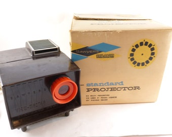 Sawyer's View-Master Reel Standard Projector Table Top Model Number 2421 with Box