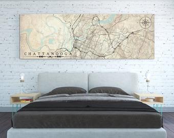 Chattanooga tn map Etsy
