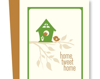 Home Tweet Home Blank Card