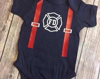 Fire Department Onesie