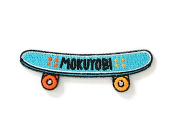 Mokuyobi Skate Iron On Patch