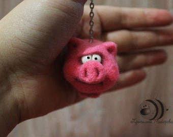 Keychain Pig