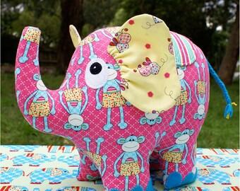 Phoebe the Elephant Pattern