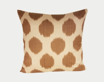 Ikat Pillow, Ikat Pillow Cover NPI11, Ikat throw pillows, Designer pillows, Decorative pillows, Accent pillows