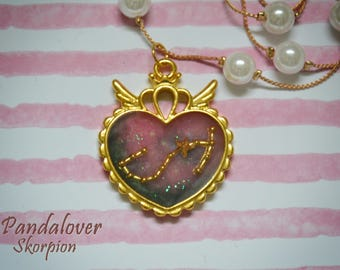 Chain with zodiac sign