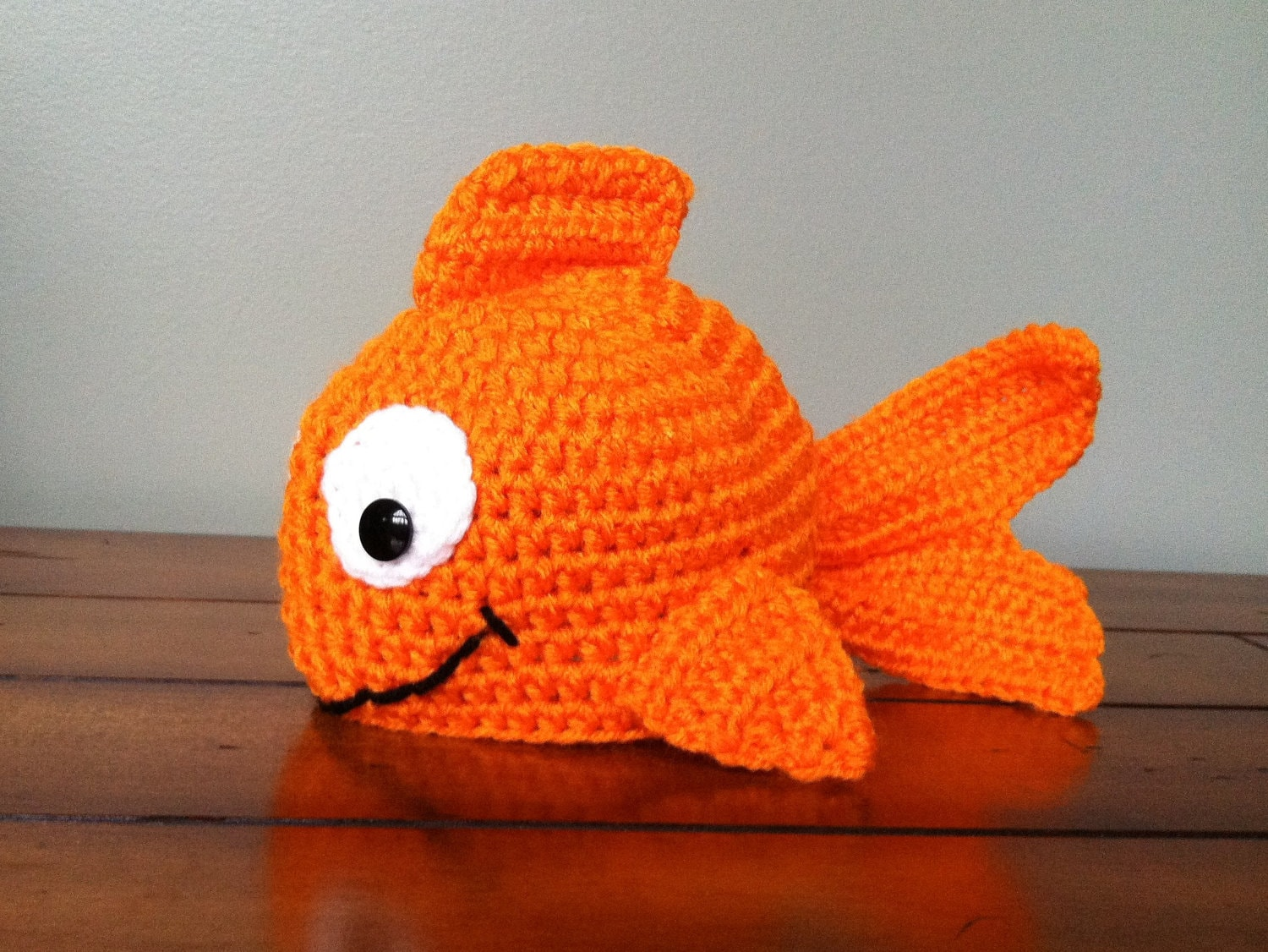 Little Goldfish Fish Hat You Choose Size Newborn Adult Any