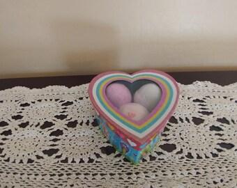 Heart Shaped Valentine's Day Bath Bomb Gift Set