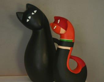 Cat. Sculpture. Statue